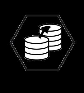logo vectoriel base de données informatique